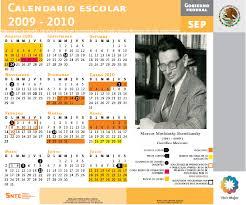 calendario oficial sep 2009