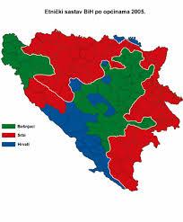 mapa bosne i hercegovine