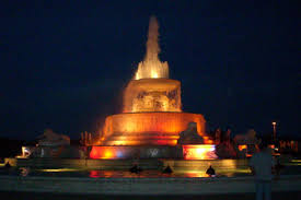 belle isle fountain