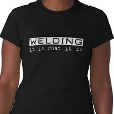 welder t shirts