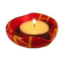 indian candle holder