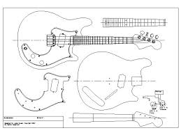 electric guitar plan