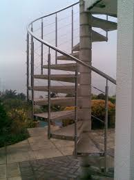 external spiral staircases