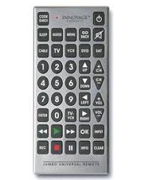 large tv remote