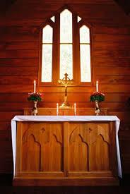 alter in a church