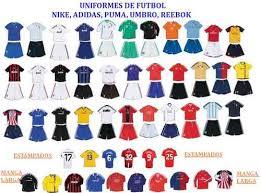 mejores uniformes de futbol