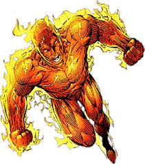 human torch comic