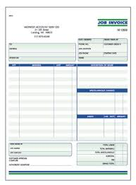 forms invoice