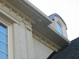 exterior window cornice