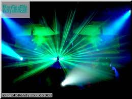 laser music