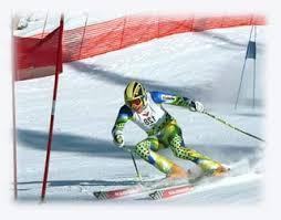 alpine skiing equipment