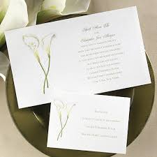 calla lily invitations