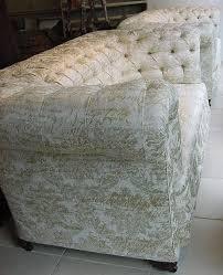damask sofas