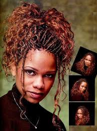 african braid style