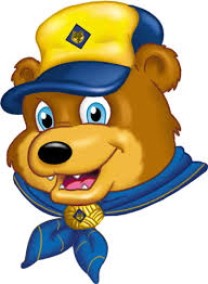 boy scout bear