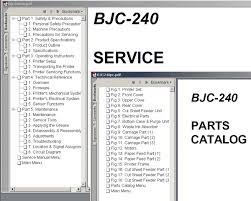 canon bjc 240
