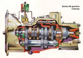 land rover gear box