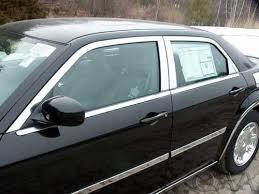 chrome window trim