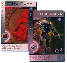 bionicle cards
