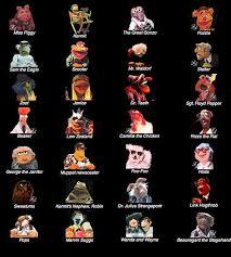 muppet show cast