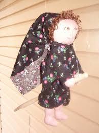 wooden spoon doll