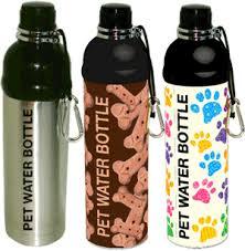 pets water bottle