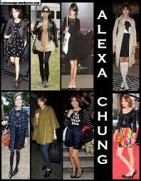 alexa chung clothes