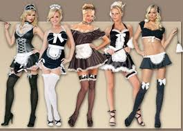 halloween maid costumes