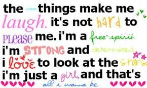 cute girly quote