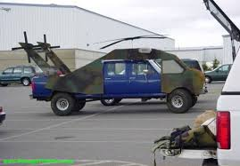 helicopter truck