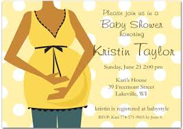 african american baby shower invitation