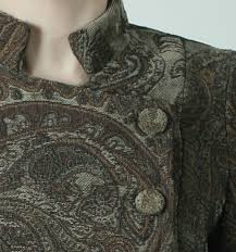 mandarin collar coat