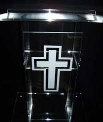 glass pulpits