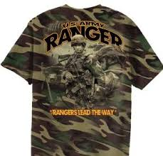 army ranger t shirt