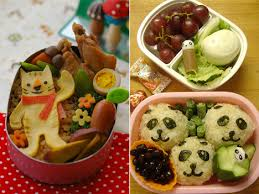 bento boxes lunch