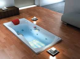 bathtub floor