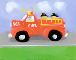 fire truck posters