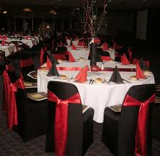 red and black party theme