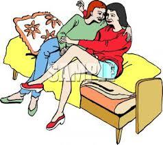 cuddler couch