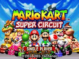 circuit mario kart