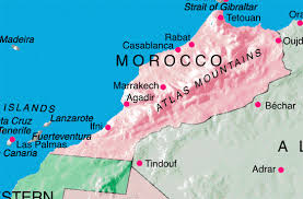 geography morocco