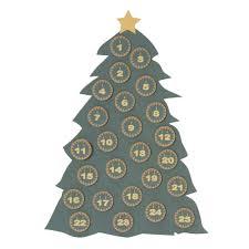 christmas advent tree