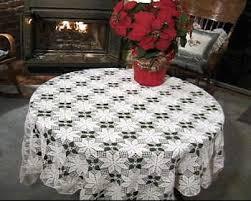 crochet tablecloths patterns