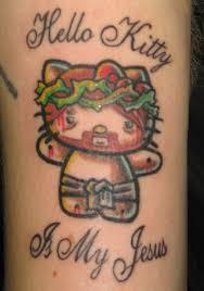 hello kitty tattoo ideas