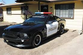ex cop car