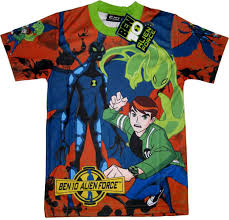 ben 10 alien force t shirt
