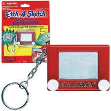 etch a sketch key chain