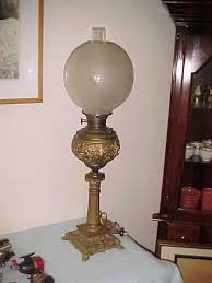 antique piano lamp