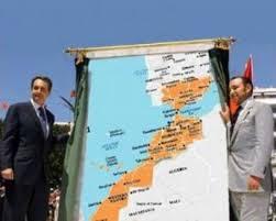 Zapataro con Mahamed VI y el Gran Marruecos
