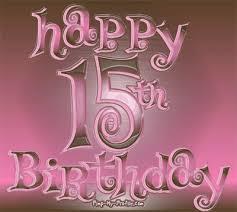 15th birthdays